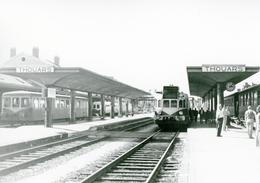Thouars. Autorail. Cliché Jacques Bazin. 03-10-1959 - Trains