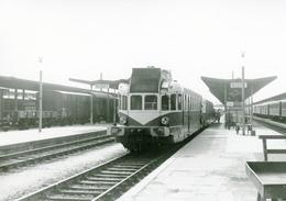 Niort. Autorail. Cliché Jacques Bazin. 03-10-1959 - Trains