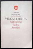 Lithuanian Book / Napoleonas Baltija Amerika 1989 - Livres, BD, Revues
