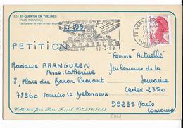 SAINT-QUENTIN En YVELINES Ville Nouvelle La Gare Et Le Train Espress Coll. J-P Franck - St. Quentin En Yvelines