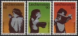 Against Starve - Year Of Children - Lichtenstein - 1979 - MNH - Against Starve
