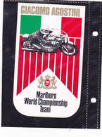 Sticker Marlboro - Giacomo Agostino - Automovilismo - F1