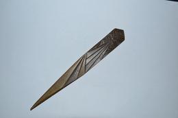 Coupe Papier Bronze Signé Chenu  Art Déco - Autres Collections