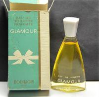 FLACON GLAMOUR BOURJOIS 50ML HAUTEUR 11CM VRAIS PARFUM - Parfums