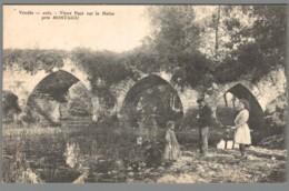 CPA 85 - Montaigu - Vieux Pont Sur La Maine - Montaigu