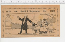 2 Scans Humour De 1920 Allaitement Au Sein Lait De Bébé Vie Chère / Mois De Septembre Chasse Vin Nouveau Chaleur 216E6 - Old Paper