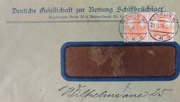 Deutsche Gesellschaft Zur Rettung Schiffbrüchiger Berlin W 29.11.1919 - Deutschland