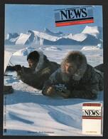 Pub Papier  1985 Tabac Cigarette Cigarettes Allumettes NEWS Explorateur Groenland Dos Gitanes Bateau Allumette - Publicités