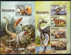 Mozambique 2016 - Dinosaurs Prehistorics On Postage Stamps MNH** (TT) CL - Stamps