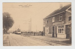 Bergh  Berg  Kampenhout  Statie Station Café Saxophone  TRAM - Kampenhout