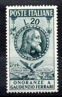 ITALIE - YT N° 560 - Neuf * - MH - Cote: 10,00 € - 1946-60: Ungebraucht