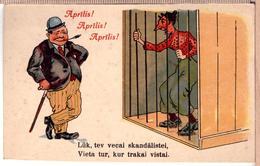 LATVIA.LETTLAND. APRIL! 1920s Photo Postcard - Letonia