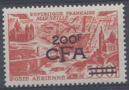 France, Réunion : Poste Aérienne N° 50 X Neuf Avec Trace De Charnière Année 1951 - Reunion Island (1852-1975)