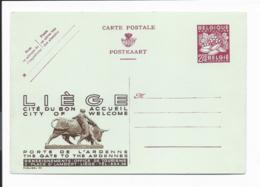 Belgien P 263 I / 03 ** -  2.50. Fr. Obst  Werbekarte Lüttich - Entiers Postaux