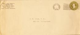 1928 ESTADOS UNIDOS , SOB. ENTERO POSTAL  , NEW YORK - BASEL - 1921-40