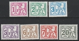 Taxe  Tx 66/72 ** - Stamps