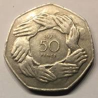 50 Pence - 1973 - 1971-… : Monnaies Décimales