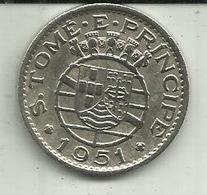 1 Escudo 1951 S. Tomé - Sao Tome And Principe