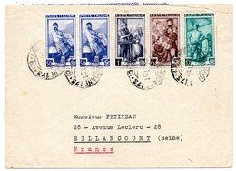 ITALIE - Belle Lettre De 1950 - - 6. 1946-.. Republic