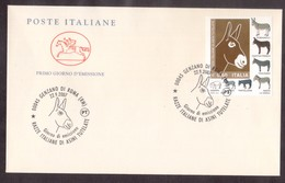X21   Italia, FDC 2007 Animal: Donkey, Ane, Esel -  Italian Breeds - Burros Y Asnos