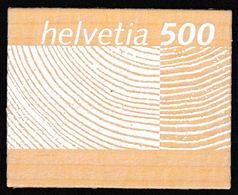 Suisse: Timbres En Dentelle (2000) Et En Bois De Corne D'aubier (2004) - Neufs