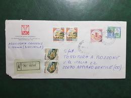 (23502) STORIA POSTALE ITALIA 1986 - 1981-90: Storia Postale