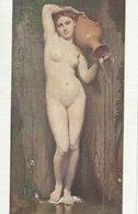 J.A.D. Ingres. La Source - The Source - La Sorgente. Musée Du Louvre.  S-587 - Paintings