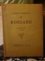 POEMES D AMOUR DE RONSARD ILLUSTRES PAR K KNOERI RONSARD - Poésie
