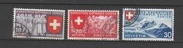 SVIZZERA  Us  1939   MI  338-40   -  Vedi Foto ! - Svizzera