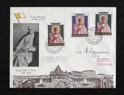 1954 VATIKAN → First Day Cover Canonizzazione 29.Maggio 1954 - FDC