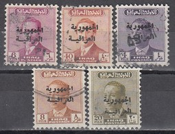 IRAK 1958 - MiNr: 200 - 260  Lot 5x   Used - Irak