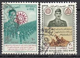 IRAK 1960 - MiNr: 287 + 289   Used - Irak