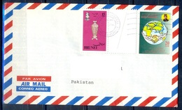 K403- Postal Used Cover. Posted From Brunei To Pakistan. - Brunei (1984-...)