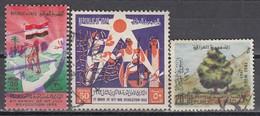 IRAK 1964 - MiNr: 385+389+404   Used - Irak