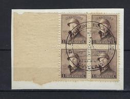 N°165 (ntz) GESTEMPELD 2e Exposition Philatelique Auvelais 1967 - 1919-1920 Albert Met Helm