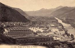 CPA CHIPPIS ET LA VALLEE DU RHONE  Ecrite En 1910 - VS Valais
