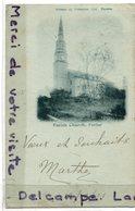 - Parish Church - Forfar, ( Ecosse ), Précurseur, Timbre Taxe Français,  écrite, BE, 1901, Scans. - Ecosse