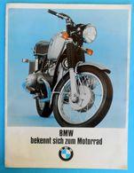 BMW Motorcycle R 50/5, R 60/5, R 75/5 - Original Old Brochure * Moto Motorrad Motociclo Motorbike Germany Deutschland - Motos
