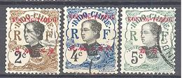 Kouang-Tchéou: 3 Valeurs De La Serie  Yvert N° 19/21° - Used Stamps