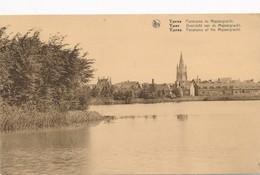 CPA - Belgique - Ieper - Ypres - Panorama Du Majoorgracht - Ieper