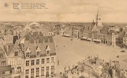CPA - Belgique - Ieper - Ypres - Panorama De La Grand'Place - Ieper