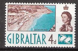 Gibraltar 1960 Catalan Bay Mi 154 MNH(**) - Gibraltar