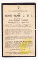 DP Gesneuveld WO I Tombé 14-18 Hilaire Caignie ° Wijtschate 1886 † Herstal 1914 X I. Dezeure / Wulvergem / Rhees Liège - Imágenes Religiosas
