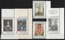 CSSR 1966 Mi. 1668 -72 Yv. 1530 -34 Postfrisch MNH** - Cecoslovacchia