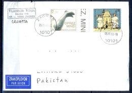 K497- Postal Used Cover. Posted  From Croatia To Pakistan. - Croatia