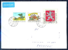 K500- Postal Used Cover. Posted  From Ceska Republika To Pakistan. Aero Plane. - Other