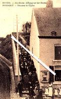 """MESSANCY - Descente De L'Eglise - METZIG - Die Kirche, Abhang Vor Der Kirche - (avec Cachet Postal """"Feldpost"""") - Messancy"""