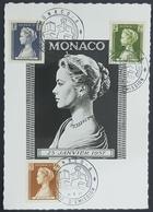 1957 Maximum Cards, Monaco, Princesse Grace Patricia De Monaco, Monte Carlo - Cartes-Maximum (CM)