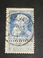 COB N ° 76  Oblitération Carlsbourg 1910 - 1905 Grosse Barbe