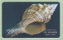Solomon Island - Remote Memory - 1999 Shells - $20 - SOL-R-02 - VFU - Solomon Islands